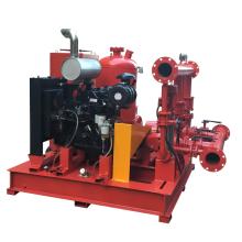 1000GPM 8бар пожарный насос набор тепловозный пожарный насос и электрический насос пожаротушения с жокей насосом