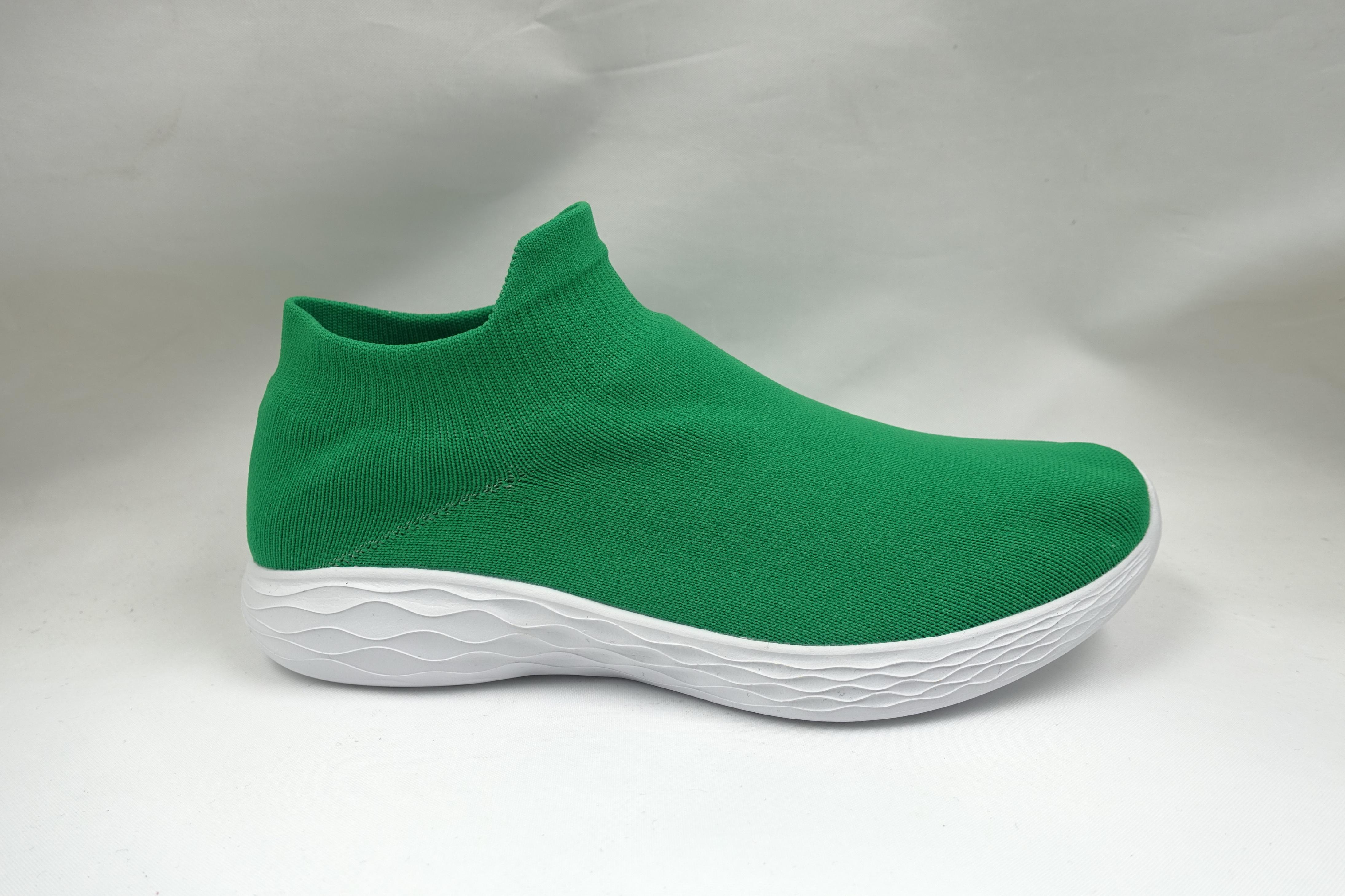Green Sock Shoes