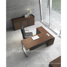 Mesa moderna executiva de madeira em forma de L (HF-ZTXK2122)