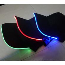 Chapeaux clignotants en gros colorés de LED, chapeau de Snapback de LED