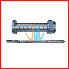38CrMoala screw barrel/best quality screw and barrel/rubber screw barrel
