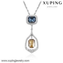 32801-turkish silver color Crystals from Swarovski, semi precious stone pendant