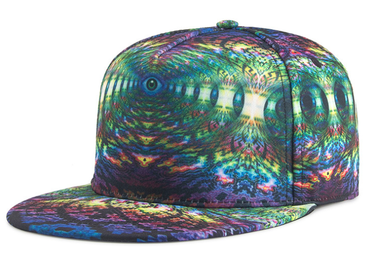 Sublimation Printing Flat Peak Cap