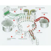 Box Filling Sealing Packing Machine for Detergent Powder Coffee Macaroni Labeling Machinery
