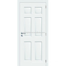 6 Группа белый цвет Prehung формованных дверь