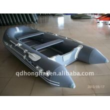 CE hh-s380 boat gray aluminum inflatable boat manufacturer