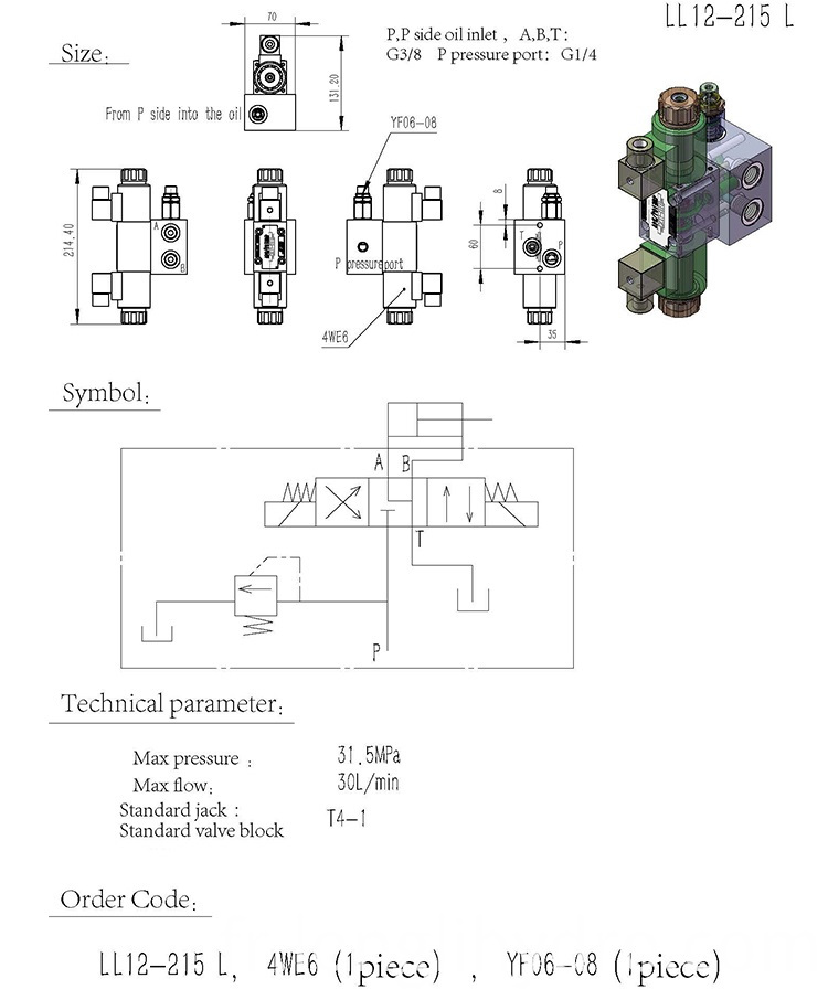 Pressure Regulator Valve Manifold Block Design
