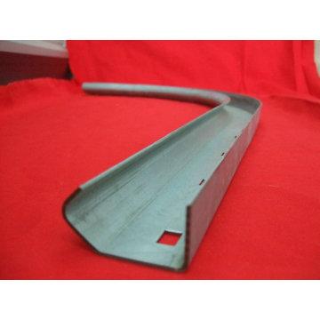 Estampado de metal de acero al carbono para el riel de la puerta