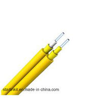 Single Mode Duplex Zipcord Tight Buffer LSZH Câble fibre optique