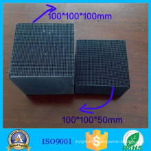 Water resistant honeycomb activated carbon for air filter