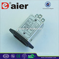 Daier three phase and low pass Emi filter 220v noise filter