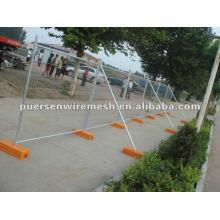 Quente mergulhado galvanizado Mobile mesh fence