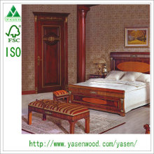 Lucury European Style Reasonable High Quality Solid Wooden Door