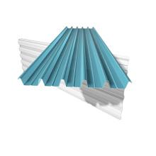Hojas de acero para techos trapezoidales