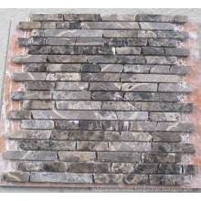 Strip Natural Marble Stone Mosaic (HSM127)