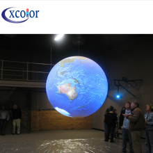 Customized for Led Globe Display Full Color Led Ball P4 Spherical Video Screen export to France Manufacturer
