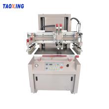 Máquina de impresión de pantalla semiautomática de satén