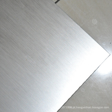 Placa Inconel 600 Placa de níquel escovado