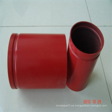 ASTM A795 Sch40 Tubería de acero para sistema de extinción de incendios por aspersión