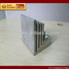 Tianjin Chine 430 Angle d'acier inoxydable brossé