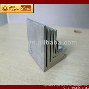 Tianjin China 430 Brushed Stainless Steel Angle