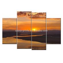 Natural Wide River Picture Canvas / Home Decor Giclee lona impressão / Dropship lona arte