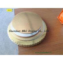 Panneaux de saumon, plateau de pâtisserie de MDF, plateau de gâteau, base de gâteau, carte de gâteau, boîte de gâteau, garnitures de gâteau