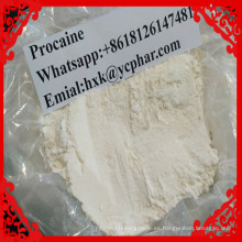 Drogas anestésicas locales del alivio del dolor de Procaine CAS 59-46-1 Procaine