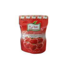 Stand Up Tomato Pasta Sauce Packaging Bag Laminated Foil Po