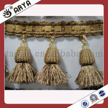 Wholesale Fashion Polyester Tassel Fringe,Textile Product