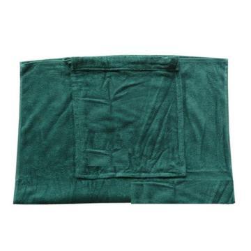 100% algodón terciopelo impresión Corona marca promocional bolsa de toalla de playa logotipo de la marca hombro con cordón bolsa de tela de la toalla