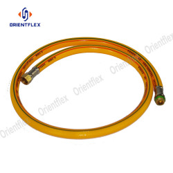 Spiral water conveying 5 layer high pressure hose