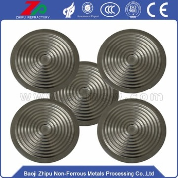 0.05-0.2mm thin thickness tantalum diaphragm