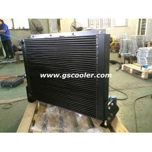 Trocador de calor móvel com ventilador