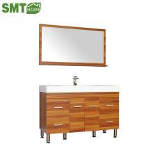 Bathroom cabinet wash table 3 cabinet  with mirror