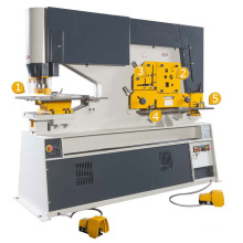 Hydraulic Iron Working Notching Machine