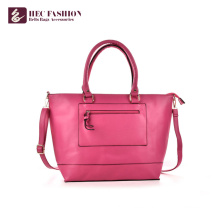 HEC China Factory Luxury PU PVC Leather Bags Women Handbags