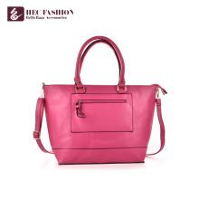 Bolsas das mulheres dos sacos de couro do PVC do plutônio do luxo da fábrica de HEC China