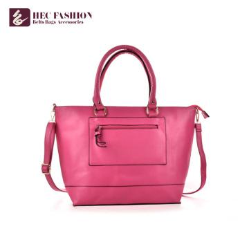 HEC China Factory Luxury PU PVC Leather Bags Women Handbags