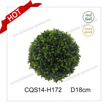D18cm Plastic Customized Artificial Christmas Ball Glass Craft