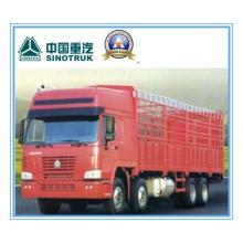 290HP Euroii Sinotruk / Cnhtc HOWO 8 X 4 Heavy Cargo Truck / Lorry 31 Ton Zz1317m3861V