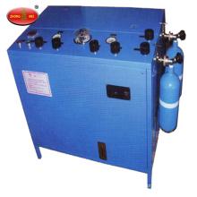 Pompe de remplissage d'oxygène gazeux pour respirateur à oxygène chimique ou minier