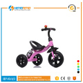Pink tricycle for little girl with oxford