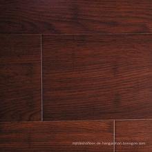 Handscraped brauner Farbe 14mm gewebter Bambusboden des festen Stranges