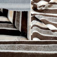 Tela de mobiliário de lã de alta qualidade com revestimento para têxteis lar