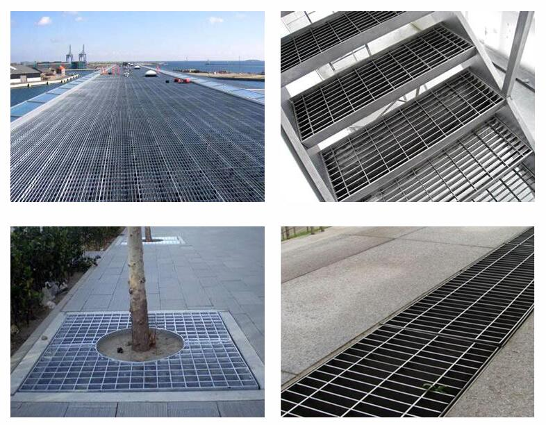 steel grating application