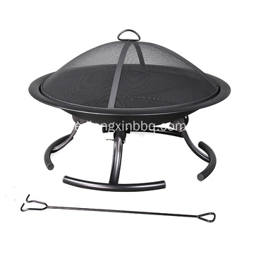 Pleasant Hearth 30-tums W Black Steel Fire pit