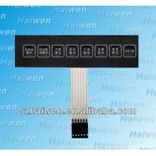 electronical 8 keys membrane panel