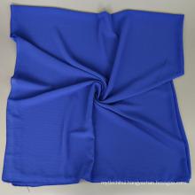 New style Popular easy to wear 145*145CM plain Bubble silk chiffon square hijab scarf
