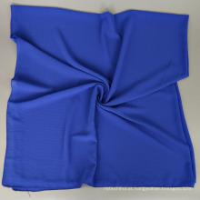 Novo estilo Popular fácil de usar 145 * 145 CM simples bolha de seda chiffon quadrado hijab cachecol